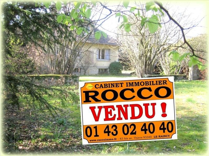 Sale house / villa Villemomble 805000€ - Picture 1