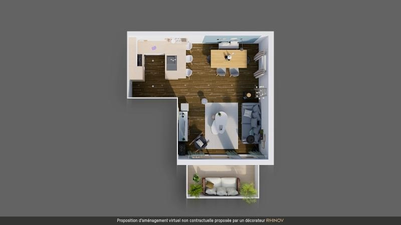 Vente appartement Mordelles 132 500€ - Photo 4