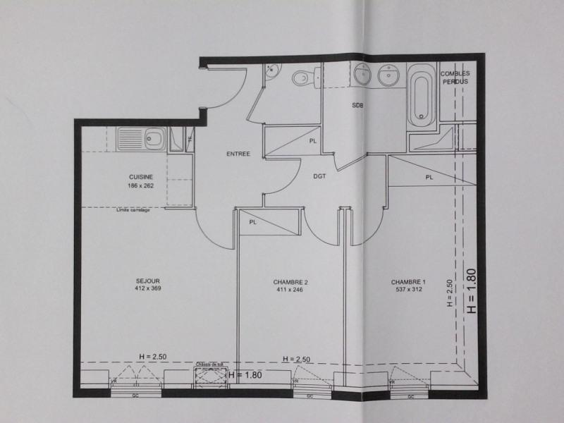 Rental apartment Montlhéry 900€ CC - Picture 6