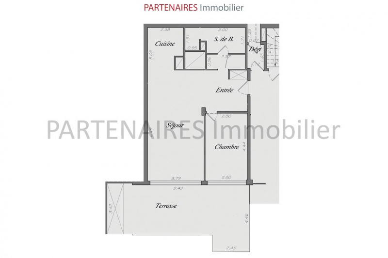 Sale apartment Le chesnay 369 000€ - Picture 4