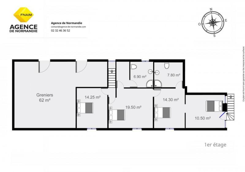 Vente maison / villa Montreuil-l'argille 180000€ - Photo 15