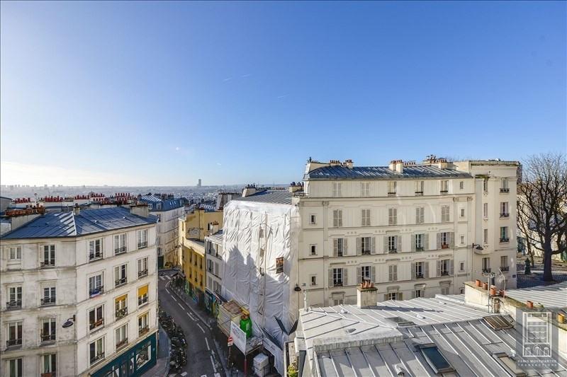 Rental apartment Paris 18ème 4800€ CC - Picture 2