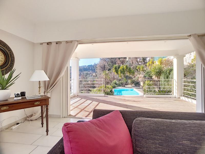 Deluxe sale house / villa Gattieres 790000€ - Picture 1