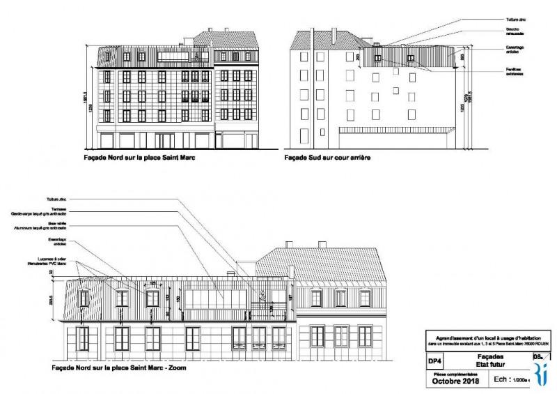 Venta  apartamento Rouen 189600€ - Fotografía 3