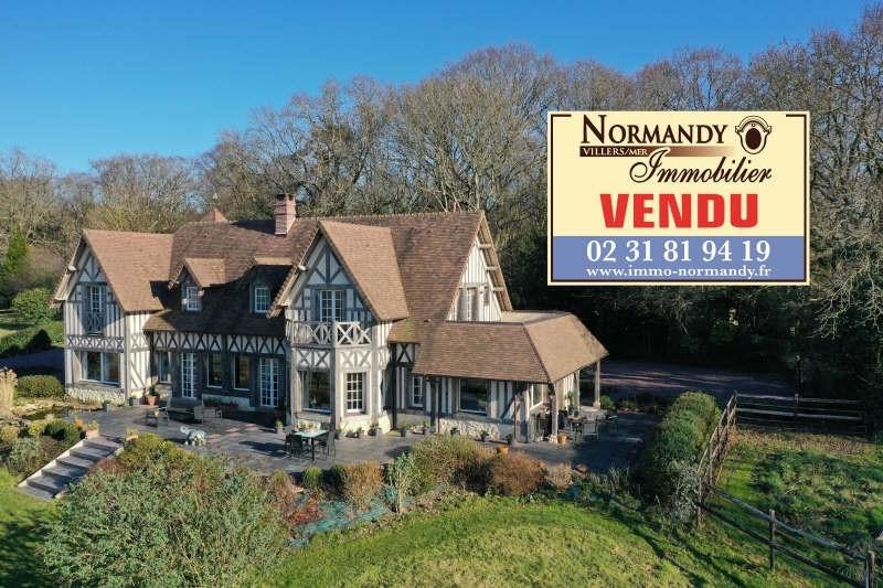 Deluxe sale house / villa Villers sur mer 975000€ - Picture 1