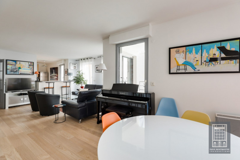 Deluxe sale apartment Paris 18ème 965000€ - Picture 5