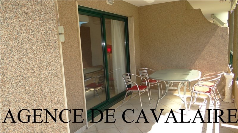 Sale apartment Cavalaire 477 000€ - Picture 1