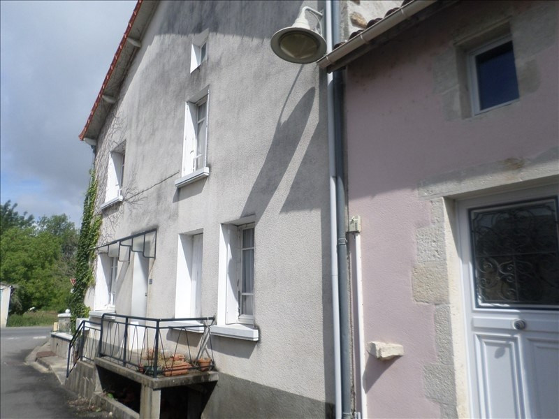 Vente maison / villa Lussac les chateaux 50000€ - Photo 1