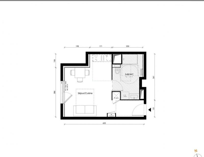 Produit d'investissement appartement Lyon 8ème 218000€ - Photo 2