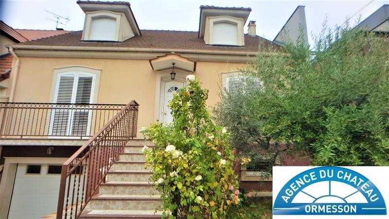 Sale house / villa Ormesson sur marne 460000€ - Picture 1