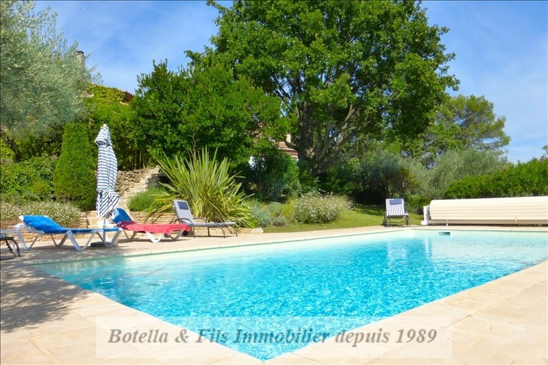 Vente de prestige maison / villa Goudargues 598000€ - Photo 5