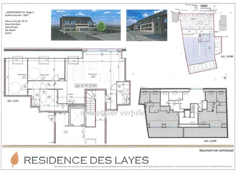 Vente appartement Fleurbaix 247996€ - Photo 3