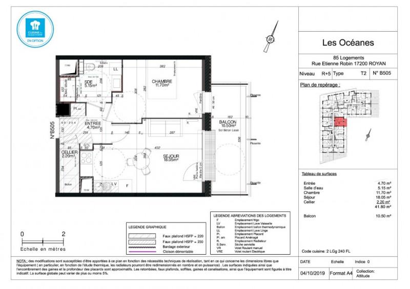 Sale apartment Royan 154000€ - Picture 4