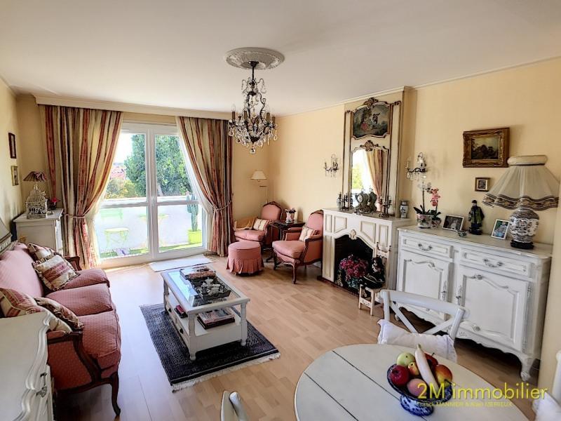 Sale apartment Vaux le penil 185000€ - Picture 1