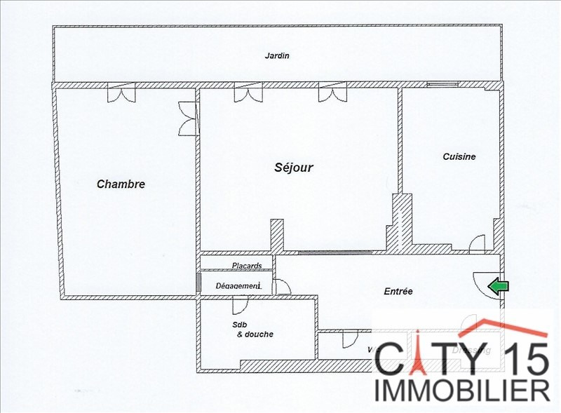 Venta  apartamento Paris 15ème 598000€ - Fotografía 3