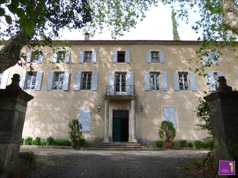 Verkoop van prestige  huis Uzes 1990000€ - Foto 1