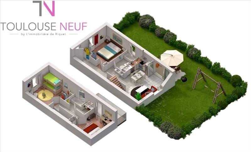 Vente maison / villa Toulouse 289900€ - Photo 2