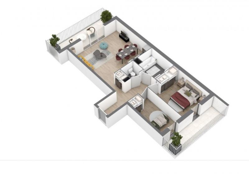 Vente appartement Saint nazaire 190000€ - Photo 5