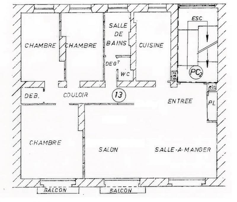Sale apartment Metz 260000€ - Picture 5