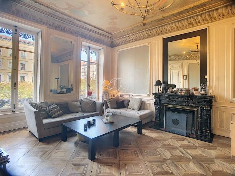 Vente de prestige appartement Lyon 6ème 1060000€ - Photo 1