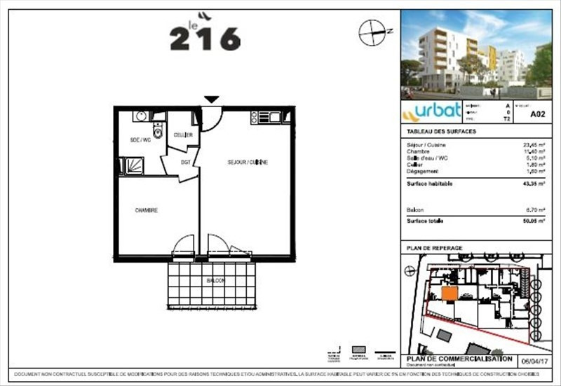 Sale apartment Montpellier 167 000€ - Picture 4