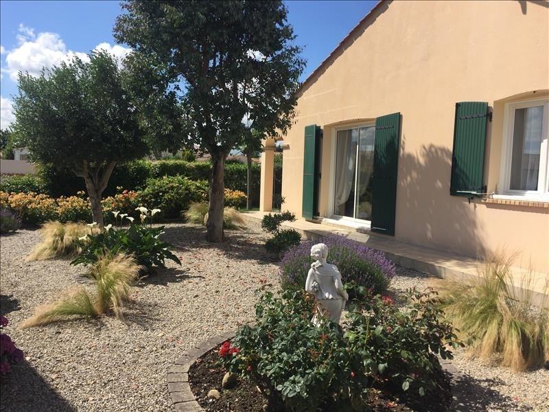 Sale house / villa St vincent sur jard 320000€ - Picture 8