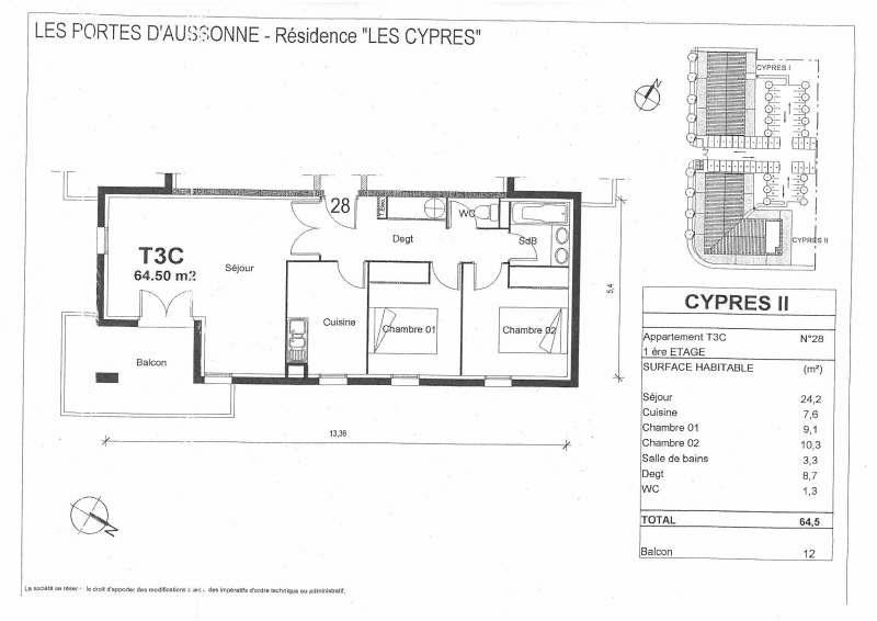 Location appartement Seilh 639€ CC - Photo 10