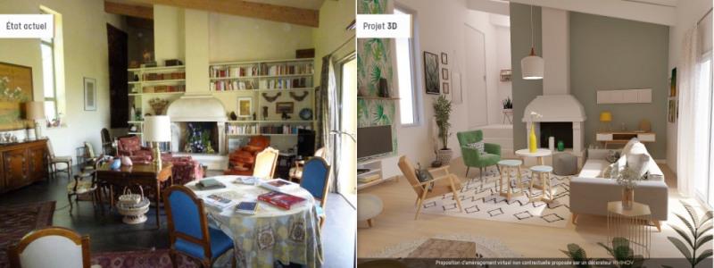 Vente de prestige maison / villa Nimes 595000€ - Photo 2