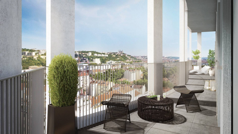 Appartement T4 de 83.21m² avec VUE sur Lyon 69002