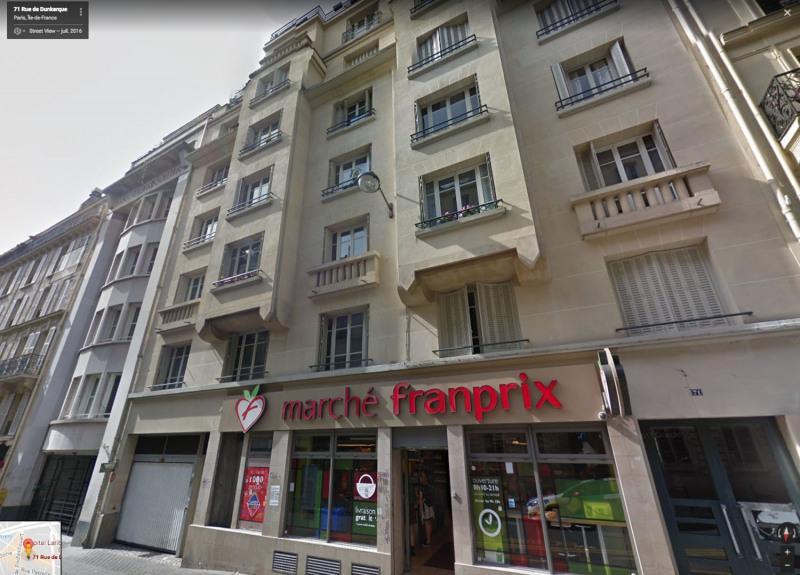 Rental parking spaces Paris 9ème 125€ CC - Picture 3