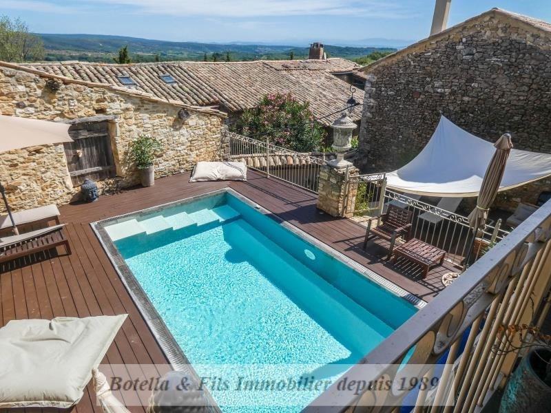 Verkoop van prestige  huis Aigueze 849000€ - Foto 2