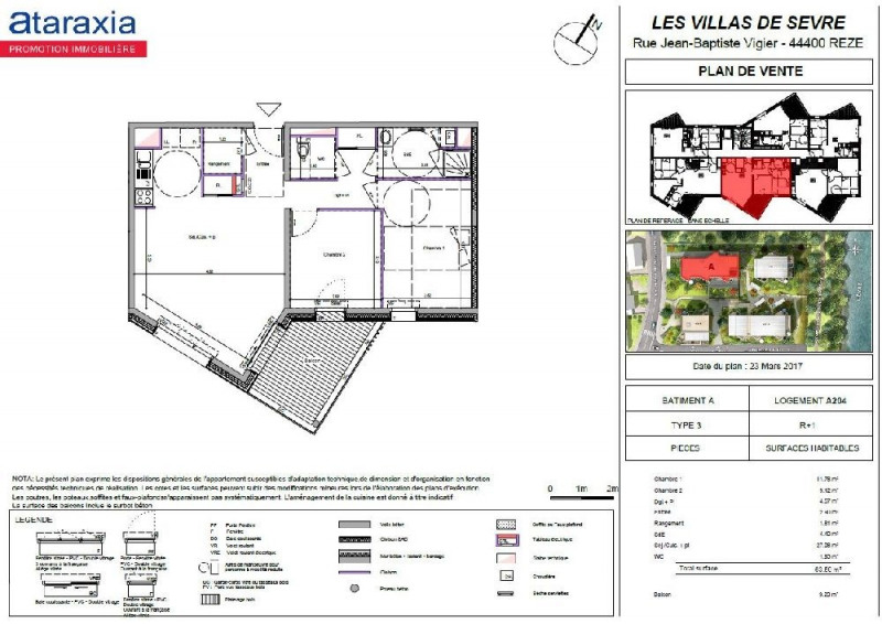 Alquiler  apartamento Reze 715€ CC - Fotografía 2