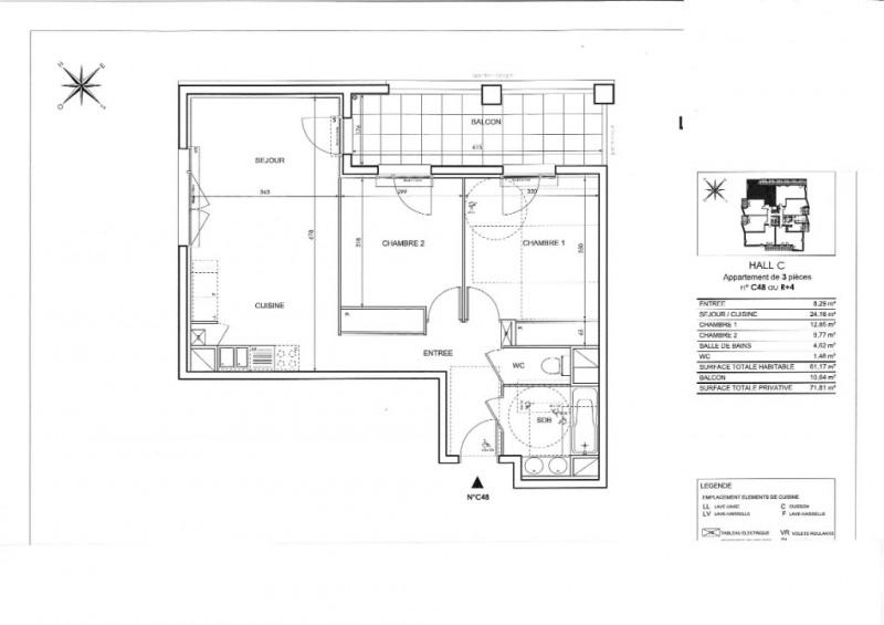 Vente appartement Toulouse 233000€ - Photo 3