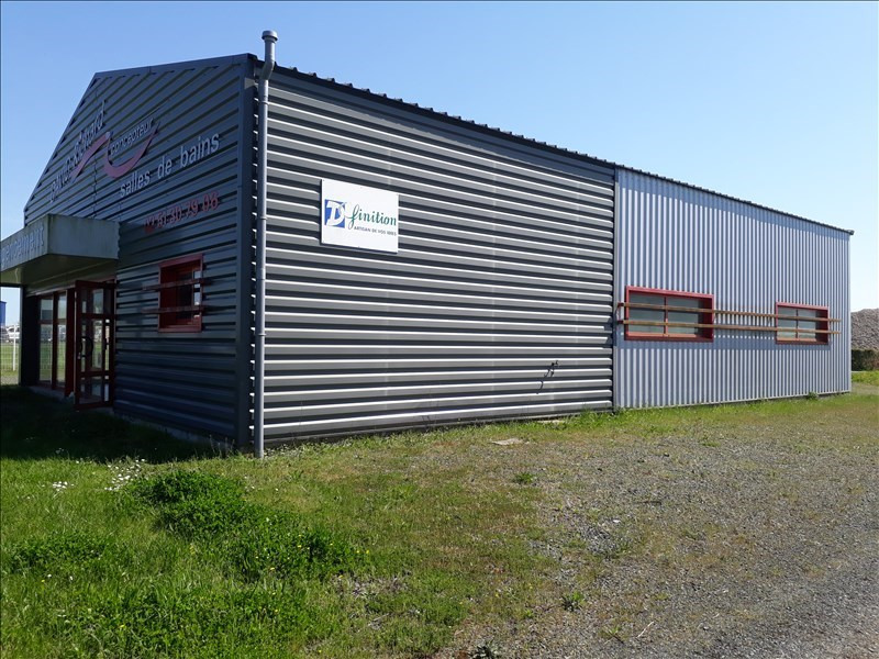 Vente local commercial Nalliers 111300€ - Photo 1