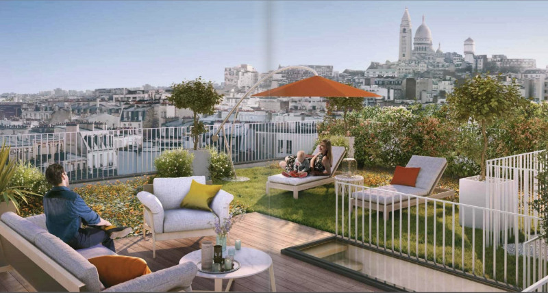 Vente de prestige appartement Paris 18ème 2 070 000€ - Photo 1