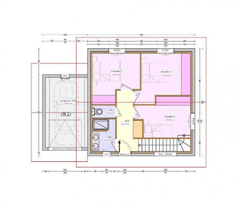 Vente maison / villa Entrelacs 302950€ - Photo 6