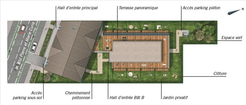 Vente appartement Toulouse 259900€ - Photo 4