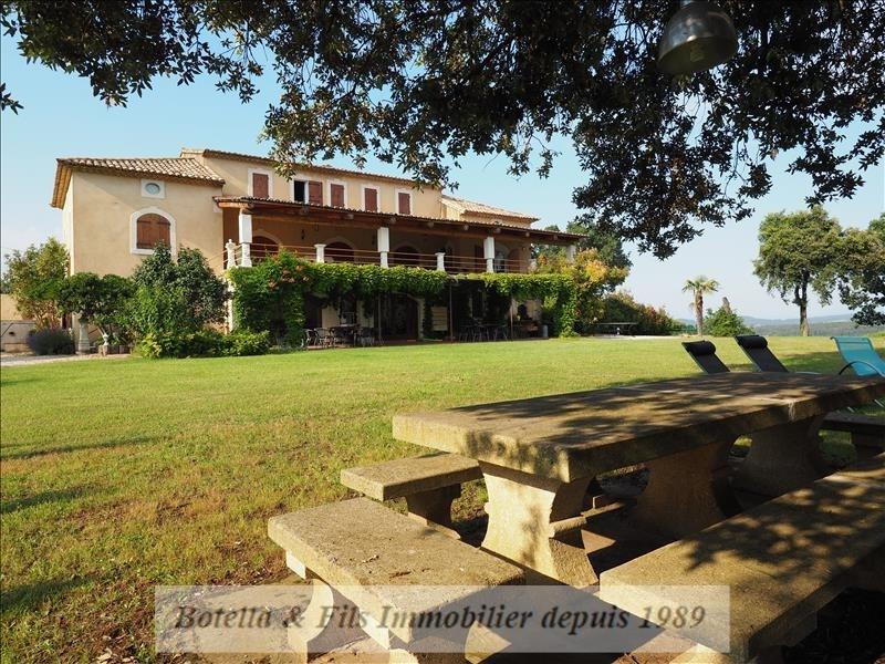 Verkoop van prestige  huis Uzes 929000€ - Foto 3