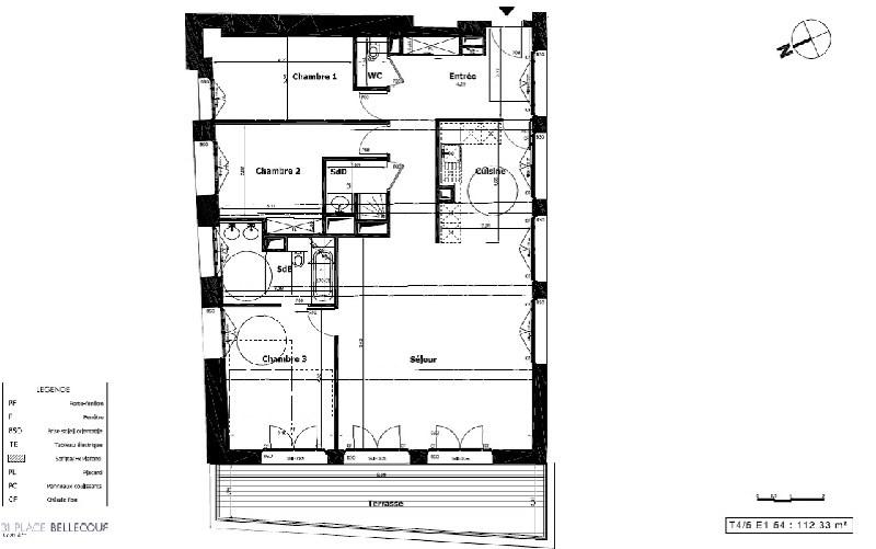 Vente de prestige appartement Lyon 2ème 1385000€ - Photo 7