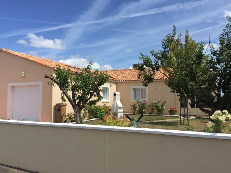 Sale house / villa St vincent sur jard 260000€ - Picture 1
