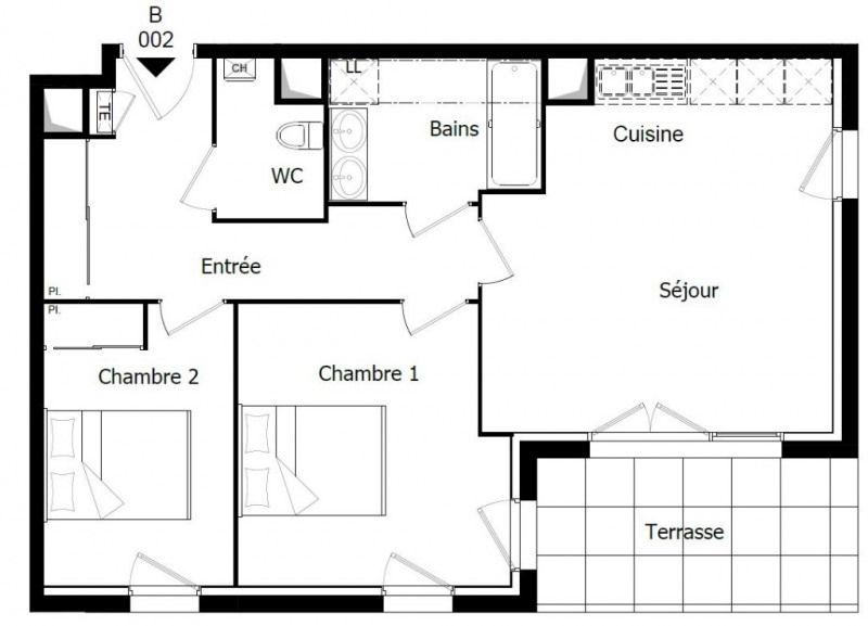 Vente appartement Challans 164 500€ - Photo 2