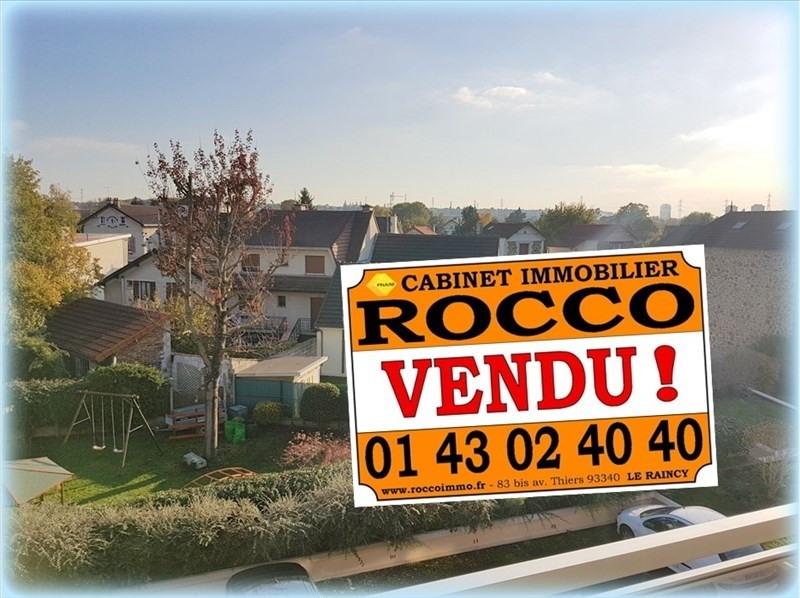 Sale apartment Villemomble 142000€ - Picture 1