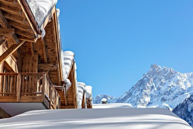 Deluxe sale apartment Les houches 304167€ - Picture 1