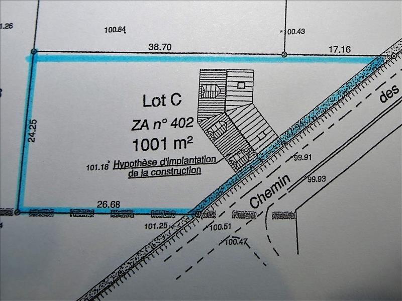 Verkauf grundstück Proche longnes 95000€ - Fotografie 5