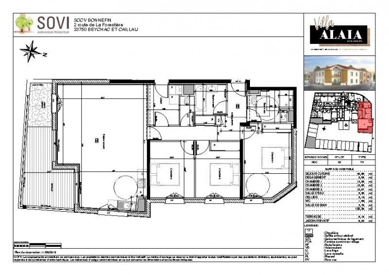 Vente appartement Biscarrosse 361000€ - Photo 2