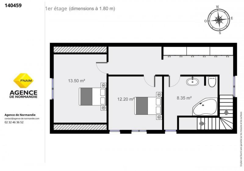 Vente maison / villa Montreuil-l'argille 130000€ - Photo 11