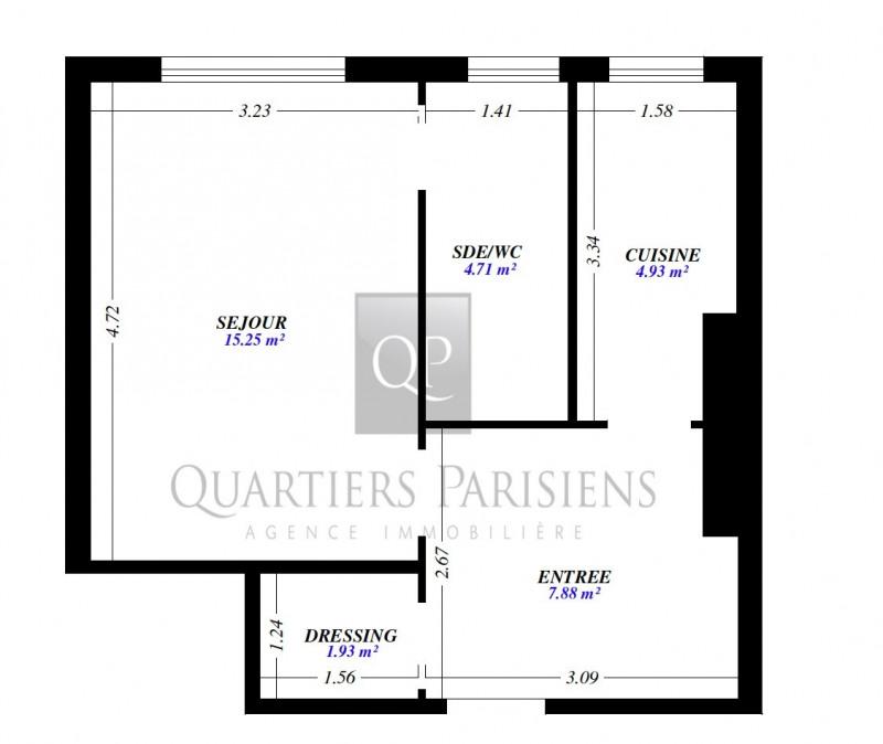 Location appartement Paris 12ème 1230€ CC - Photo 7