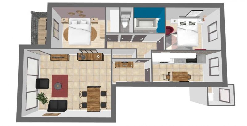 Vente appartement Ris orangis 90000€ - Photo 8