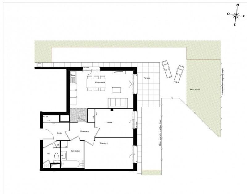 Produit d'investissement appartement Tassin-la-demi-lune 334000€ - Photo 3