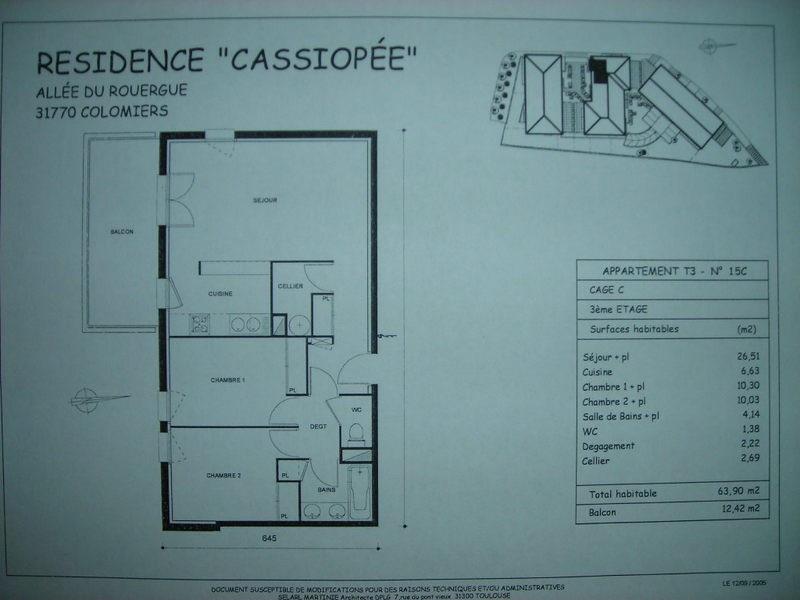 Location appartement Colomiers 661€ CC - Photo 5